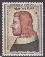 6ème Centenaire De La Mort De Jean II Le Bon, Roi De France N°1413 Neuf - France