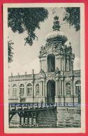 160474 / DRESDEN -  ZWINGER ( KRONENTOR ) - USED 1953 KATHE KOLLWITZ Germany Deutschland Allemagne Germania - Dresden
