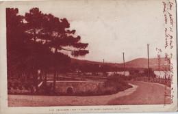 CPA Cavalaire -Route De Saint-Raphaël Et De La Croix Valmer - Cavalaire-sur-Mer