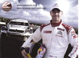 World Touring Car Championship  -  Citroen  -  Sebastien Loeb Racing   -  Carte Promo - Unclassified