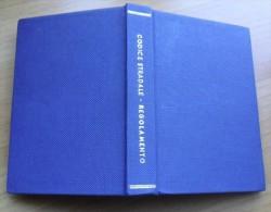 * VECCHIO CODICE STRADALE - REGOLAMENTO 1959 - A CURA DEL DOTT. VITO MAJORCA - - Unclassified