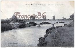 (33) Saint St Médard De Guizières - Le Pont Des Piétons - Trés Bon état - 2 SCANS - France
