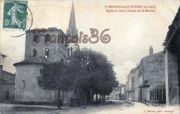 (33) Saint St Médard De Guizières - L'Eglise Et Vieux Clocher - Bon état - 2 SCANS - France