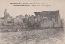 LANGEMARCK EN RUINES ( COUVENT DES SOEURS APOSTOLINES ) - Langemark-Poelkapelle