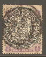 RHODESIA    Scott  # 26  VF USED - Great Britain (former Colonies & Protectorates)