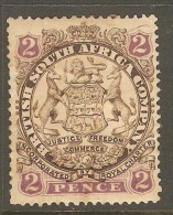RHODESIA    Scott  # 28*  VF MINT HINGED - Great Britain (former Colonies & Protectorates)