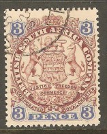 RHODESIA    Scott  # 29  VF USED - Great Britain (former Colonies & Protectorates)