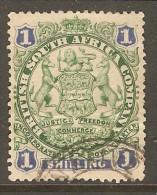 RHODESIA    Scott  # 33  VF USED - Grande-Bretagne (ex-colonies & Protectorats)