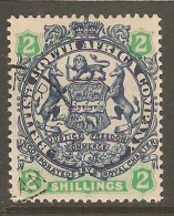 RHODESIA    Scott  # 34  VF USED - Great Britain (former Colonies & Protectorates)
