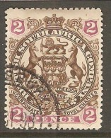 RHODESIA    Scott  # 52  VF USED - Grande-Bretagne (ex-colonies & Protectorats)