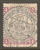 RHODESIA    Scott  # 54  VF USED - Great Britain (former Colonies & Protectorates)