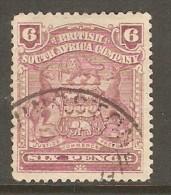 RHODESIA    Scott  # 65  VF USED - Grande-Bretagne (ex-colonies & Protectorats)