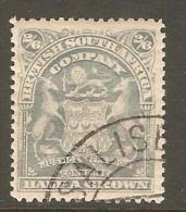 RHODESIA    Scott  # 67  VF USED - Grande-Bretagne (ex-colonies & Protectorats)
