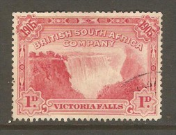 RHODESIA    Scott  # 76  VF USED - Great Britain (former Colonies & Protectorates)