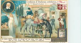CHROMO LIEBIG - L'Enfance D'Italiens Célèbres - Galilée - Série Française 1044 - Année 1912 - Liebig