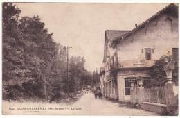 4434.  MONS - CHESSENAZ  (Hte-Savoie)  -  Le  Quai - France