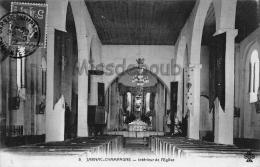 17 - JARNAC-CHAMPAGNE - Intérieur De L'Eglise  - 2 Scans - Non Classificati