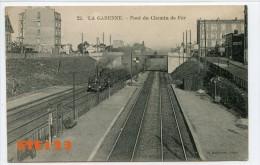 La Garenne  - Pont Du Chemin De Fer - Locomotive - La Garenne Colombes