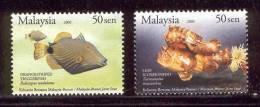 Malaysia 2006 Unique Marine Live MNH (T1044) - Fische