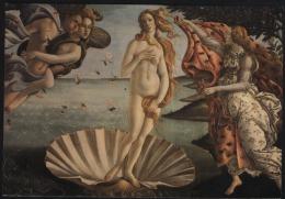 Sandro Botticelli-birth Of Venus-unused,perfect Shape - Saints