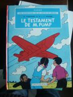 EO JO ZETTE ET JOCKO LE TESTAMENT DE M.PUMP  HERGE - Jo, Zette & Jocko