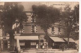 LAMBALLE - Hotel De L'Ouest - COMMAUT  1916 - Lamballe