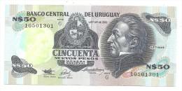 Uruguay 50 Nuevos Pesos 1989 UNC - Uruguay