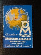 ORESUND FAIR HALSINGBORG Vignette Poster Stamp - Sweden