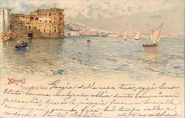 [DC5304] CARTOLINA - NAPOLI - PALAZZO DONN'ANNA - Viaggiata - Old Postcard - Napoli (Naples)