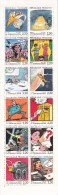 France 1988 Booklet Yv BC2515 French Cartoonists. (Bilal, Reiser, Bretecher, Tardi, Moebius...) MNH - Comics