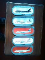 Autocollants Airbus A319 - Lot 2 - Aufkleber
