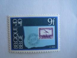 België Belgique 1980  Zegel Op Zegel Timbre Sur Timbre Avion COB 1970 Yv 1969 MNH ** - Ongebruikt