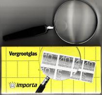 Loupe à Manche  - Diam. 75mm - Gross X 3 - Lentille Verre Double Foyer - Neuve (Lot 15) - Pins, Vergrootglazen En Microscopen