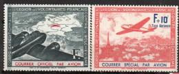 Timbres Pour Le Courrier - N° 2 Et 3-  Neuf* - LVF - FRANCE - Guerres