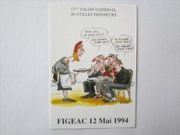 46 Lot Figeac Mai 1994 Salon National Des Collectionneurs Illustrateur - Figeac