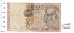1982 - 1000 Lire Marco Polo - Italia - Banconota Banknote - [ 2] 1946-… : Repubblica