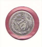 MEXICO 10 CENTAVOS 1919 SILVER KM429 TYPE - Mexique