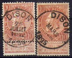 57 Dison - 1893-1900 Barbas Cortas