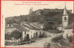 CPA PIERRE-PERCEE (Meurthe Et Moselle) Le Village Et Le Château  Vallée De CELLES (Vosges)  ++++ - France