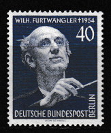 """Berlin, Mi-Nr. 126  """" Furtwängler """"  Feinst Xx Perfekt Gezähnt A.Abo-Sammlung, Los 6.2-42 - [5] Berlin"""