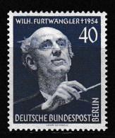 "Berlin, Mi-Nr. 126  "" Furtwängler ""  Feinst Xx Perfekt Gezähnt A.Abo-Sammlung, Los 6.2-42 - Neufs"