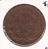 MEXICO 10 CENTAVOS 1935  KM430 - Mexique