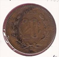 MEXICO 20 CENTAVOS 1935  KM437 - Mexique