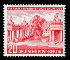 """Berlin, Mi-Nr. 116  """"  Viermächte-Konferenz  """"  Feinst Xx Perfekt Gezähnt A.Abo-Sammlung, Los 6.2-46 - Neufs"""
