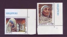 Albania 1998 - Santa Teresa Di Calcutta, 2v MNH** Integri - Albania