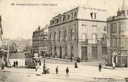 CPA - CLERMONT-FERRAND (63) - La Banque De La Société Générale De La Place Gaillard Et Passage Du Tram - Clermont Ferrand