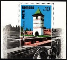 Rumänien 1978 MiNr. 3529 (Block 153) **/ Mnh   Tourismus: Strehaia - Klöster