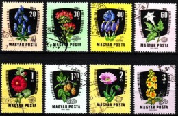 Ungarn 1961 MiNr. 1799/1806  O  Heilpflanzen - Heilpflanzen