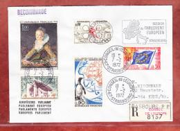 Einschreiben Reco, Europarat U.a., Strasbourg Nach Kehl 1972 (73074) - Lettres & Documents
