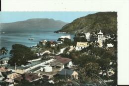 GV148   --     SAINTES,  TERRE DE HAUT    --  LE MOUILLAGE  --  AU FOND, LA SOUFRIERE - Guadeloupe